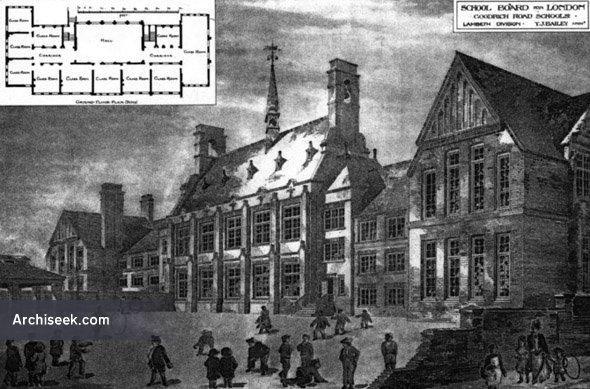 1887 – School, Goodrich Road, Lambeth, London