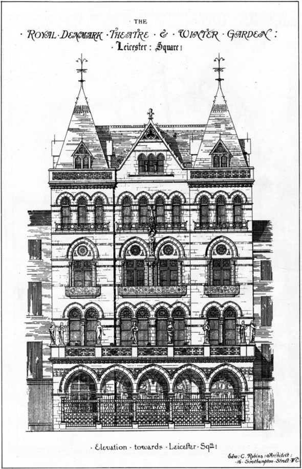 1869 &#8211; Royal Denmark Theatre &#038; Winter Garden, Leicester Sq., London