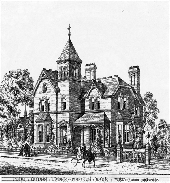 1869 &#8211; The Lodge, Upper Tooting, London
