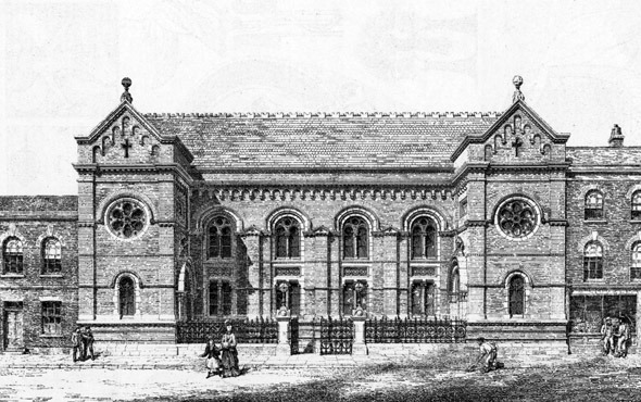 1870 &#8211; Battersea Chapel, London
