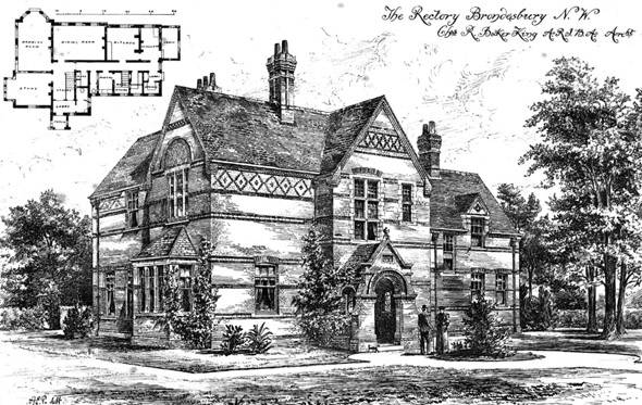 1894 &#8211; The Rectory, Brondesbury, London