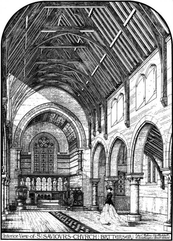 1870 – St. Saviours Church, Battersea, London