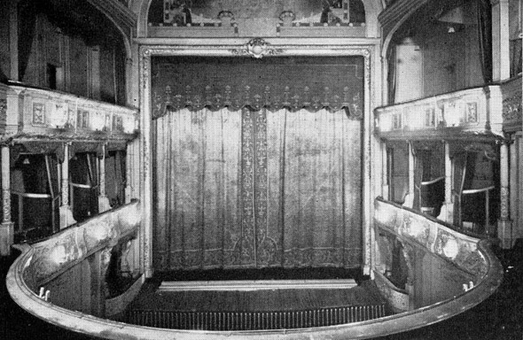 1881 Savoy Theatre Victoria Embankment London