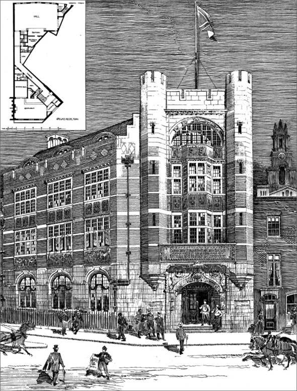 1901 &#8211; Passmore Edwards Sailors Palace, London