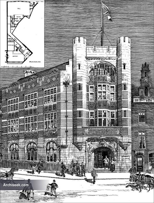 1901 – Passmore Edwards Sailors Palace, London
