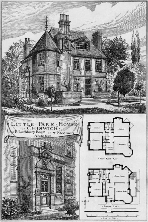 1881 Little Park House Chiswick London Architecture
