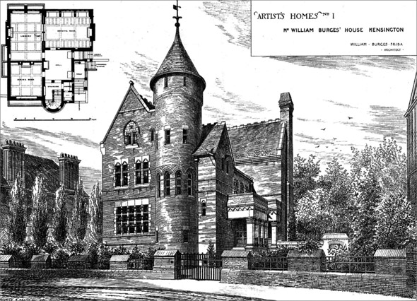 1878 – The Tower House, Kensington, London