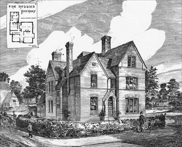 1880 – 'The Hollies', Finchley, London
