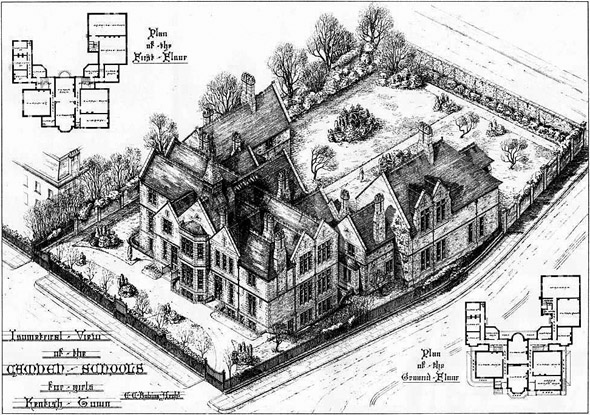1877 – The Camden Schools for Girls, Kentish Town, London