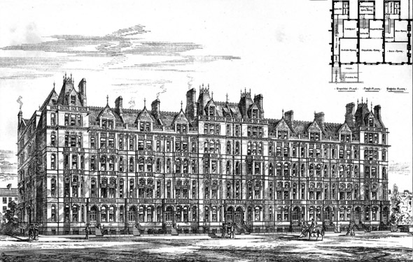 1879 – Cadogan Terrace, London