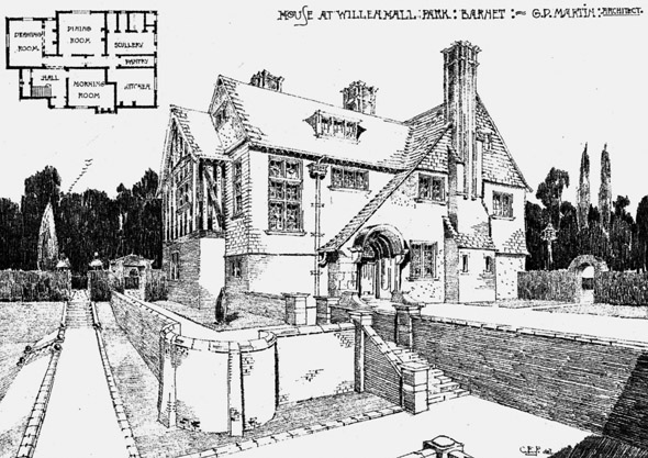 1901 – House at Willenhall Park, Barnet, London