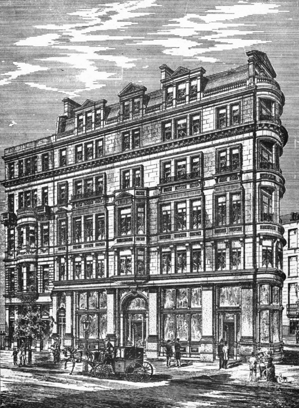 1887 – Craven House, Northumberland Avenue, London