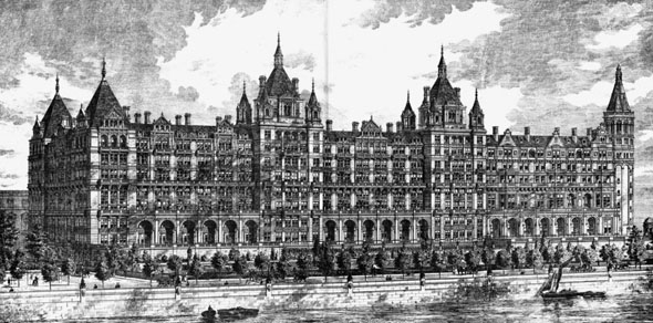 1885 – Whitehall Court, London