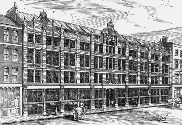 1886 – Business Premises, Long Acre, London