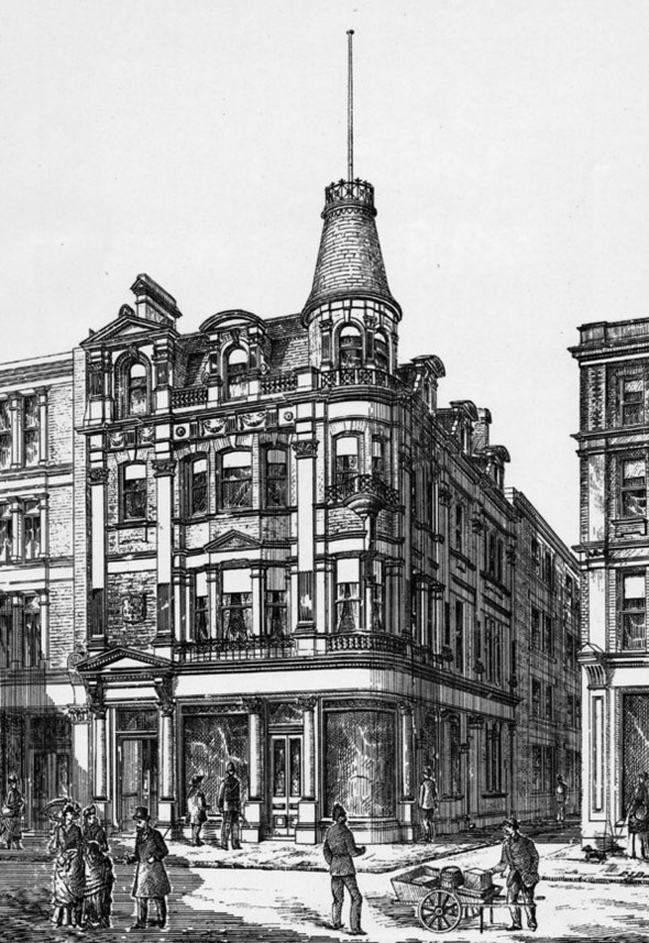 "1888 – The ""Havelock Arms"", Grays Inn Road, London"