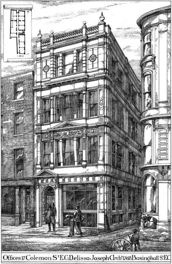 1888 – No. 17 Coleman St., London