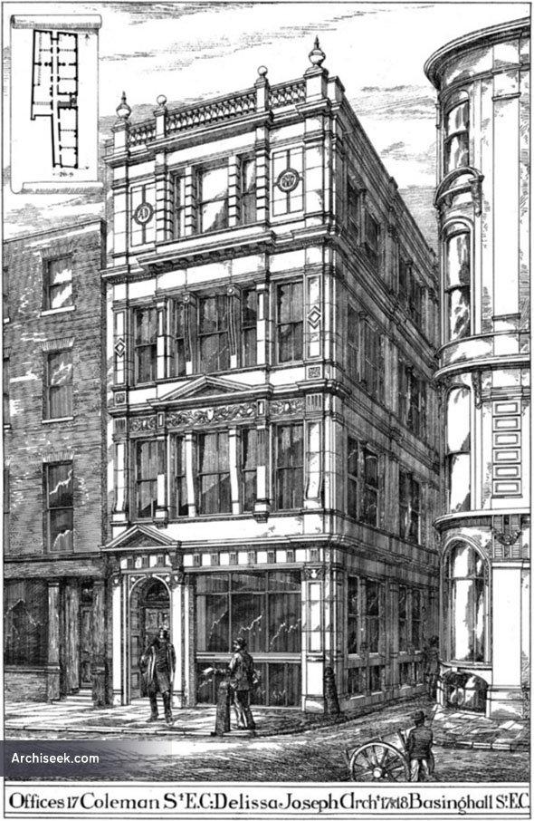 1888 – No. 17 Coleman St., London