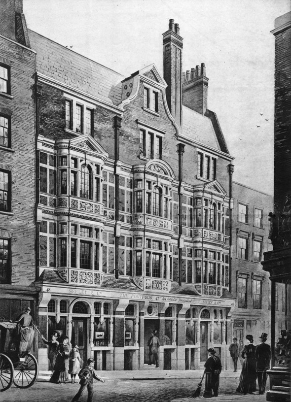 1885 – New Premises, Essex Street, Strand, London