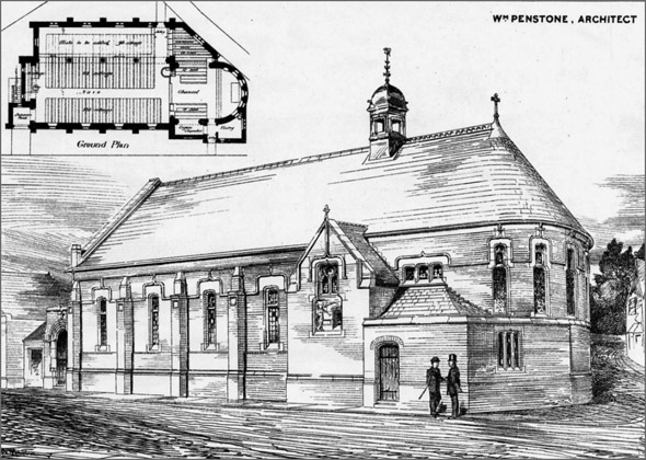1879 – Herne Hill Mission Competition, London