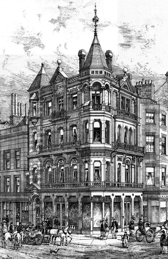 1879 – Commerical Building, New Bond Street, London