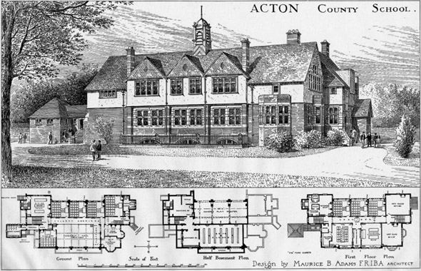 1904 &#8211; Acton County School, London