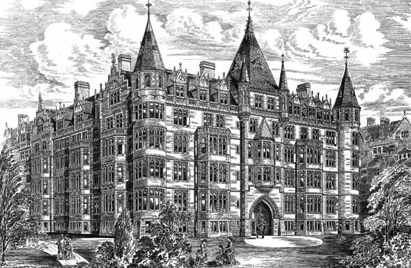 1882 – New Block of Chambers, Middle Temple, London