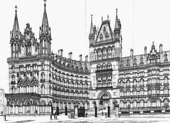 1873  Midland Grand Hotel, St Pancras, London