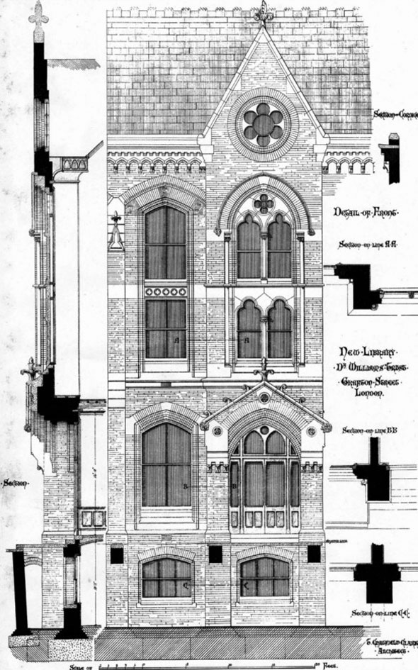 1873 – New Library, Grafton Street, London