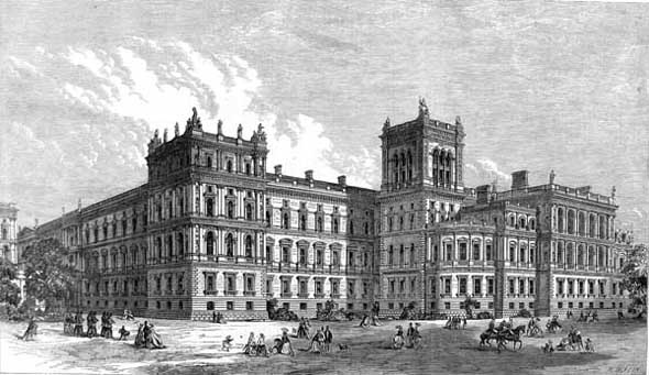 1868 – Foreign and India Offices, London