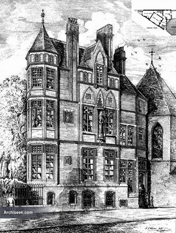 1876 – Presbytery, Camberwell, London