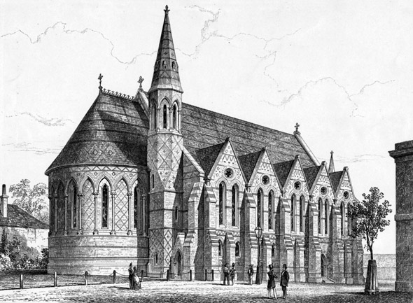 1859 &#8211; Chapel, Royal Dockyard, Woolwich, London