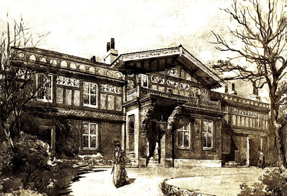 1898 – Forest Lodge, Tulse Hill, London