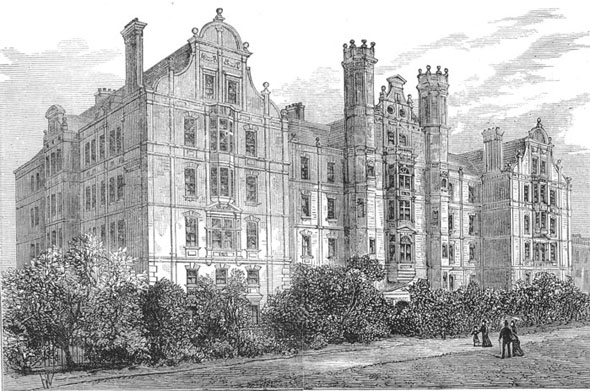 1882 &#8211; Brompton Consumption Hospital, London