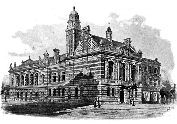 1895 &#8211; Rotherhithe Town Hall, London