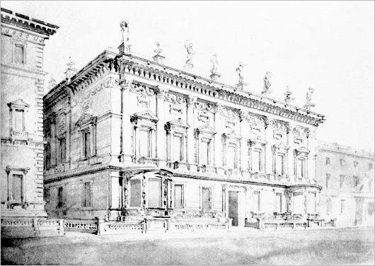 1833 – Design for Carlton Club, London