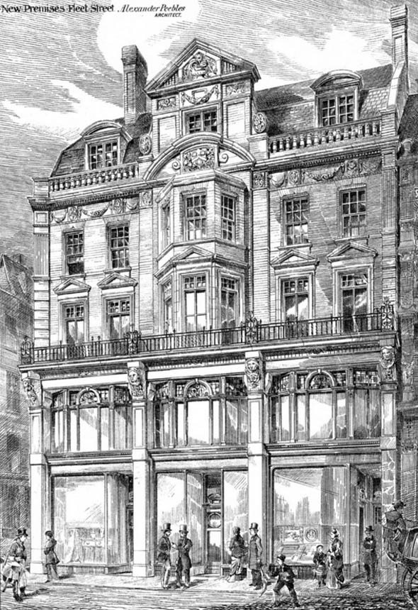 1879 – New Premises, Fleet Street, London