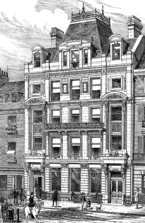 1880 – No.57 Jermyn Street, London