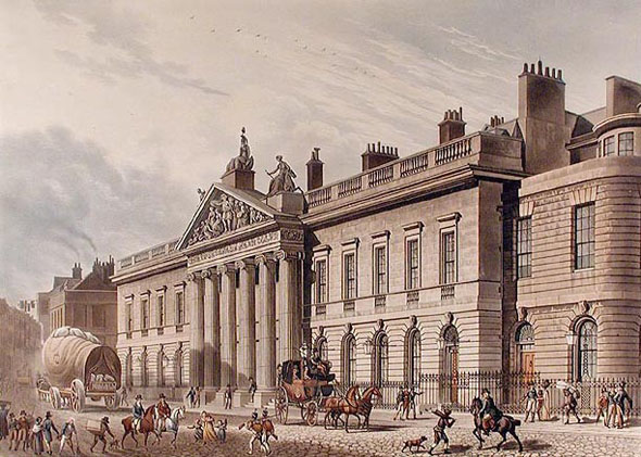 1729 &#8211; East India House, Leadenhall St., London