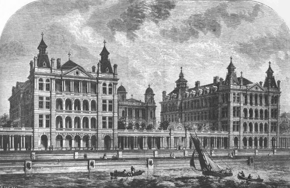 1871 – St. Thomas Hospital, London