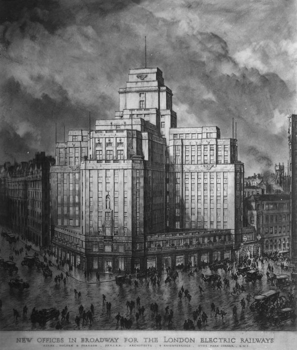 1929 &#8211; London Transport, 55 Broadway, London