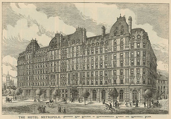 1883 &#8211; Hotel Metropole, London