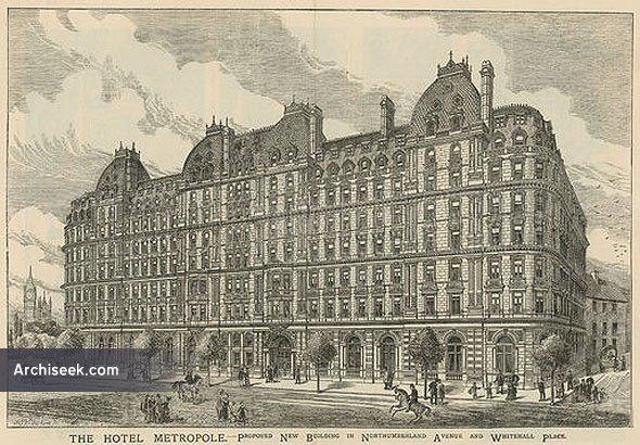 1883 – Hotel Metropole, London