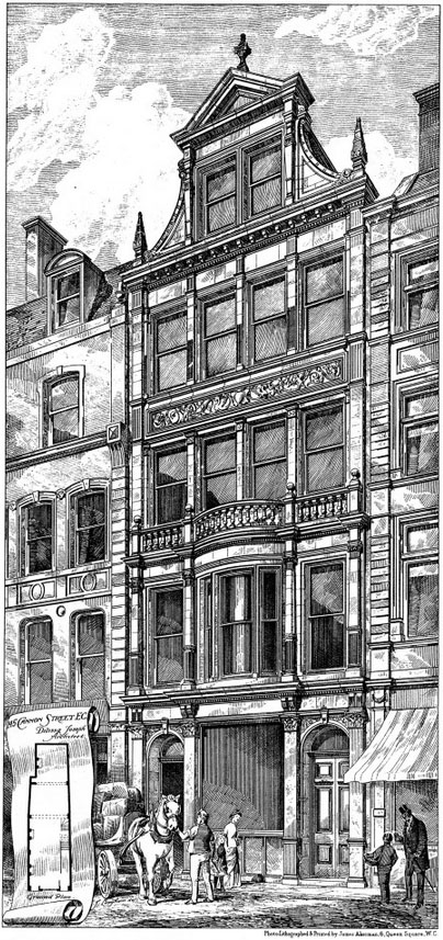 1888 – No.45 Cannon Street, London