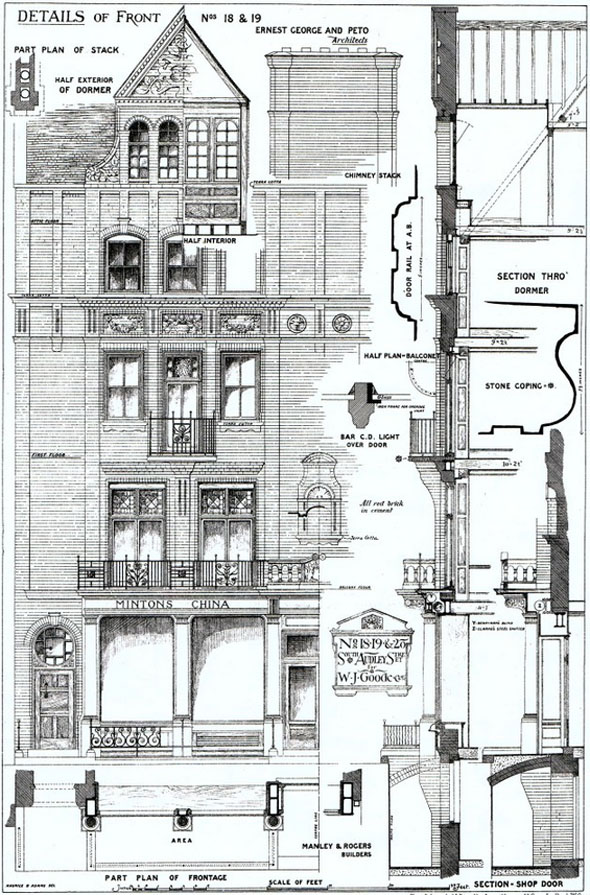 1876 – Thomas Goode & Company, Nos 18 & 19 South Audley Street, London