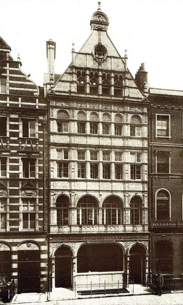 1891 &#8211; No.40 Wigmore Street, London