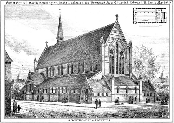 1878 – Christ Church, North Kensington, London