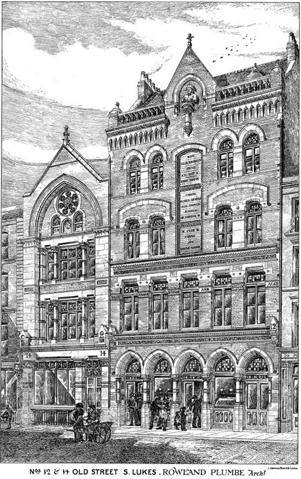 1879 – No's.12 & 14, Old Street, St. Lukes, London