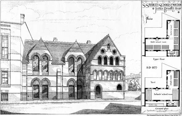 1875 &#8211; St. Saviours School, Hoxton, London