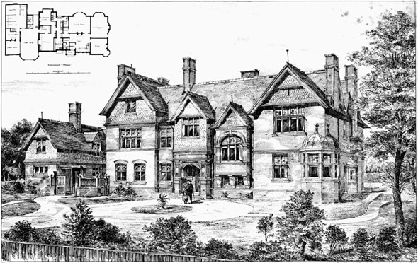 1886 – Thrale House, Tooting Common, London
