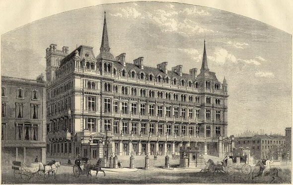 1867 &#8211; City Terminus Hotel, Cannon St., London